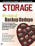Storage magazine Online August 2011 cover